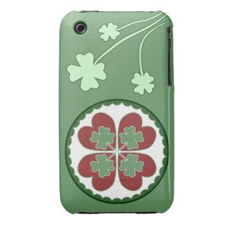 caso del iPhone 3 - afortunado en maleficio del iPhone 3 Funda