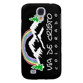 Caso del iPhone 3 de Colorado VDC, negro, desaliña Funda Para Galaxy S4
