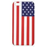 Caso del iphone 3 de la bandera americana