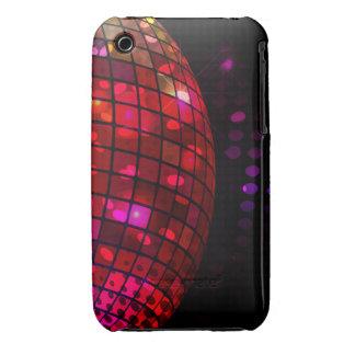 Caso del iPhone 3 de la bola de discoteca iPhone 3 Case-Mate Protector