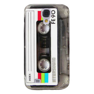 Caso del iPhone 3 de la cinta de casete Funda Para Galaxy S4