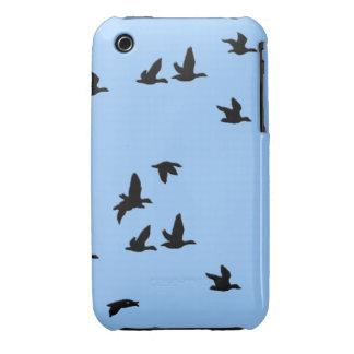 Caso del iPhone 3 de la fauna de los pájaros de iPhone 3 Case-Mate Protectores
