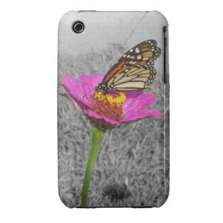 Caso del iPhone 3 de la mariposa de Flutterby iPhone 3 Carcasa