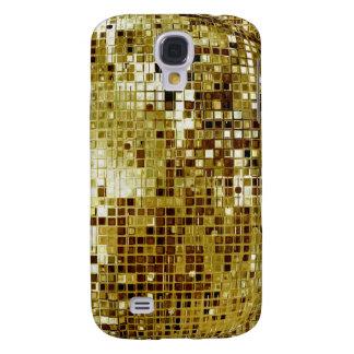 Caso del iPhone 3 de la mirada de las lentejuelas  Samsung Galaxy S4 Cover