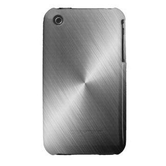 Caso del iPhone 3 de la textura del cromo Funda Para iPhone 3 De Case-Mate
