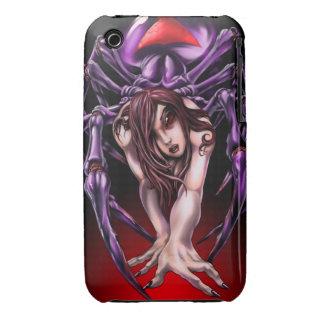 Caso del iPhone 3 de la viuda negra iPhone 3 Cárcasa