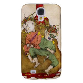 Caso del iPhone 3 de los mejores amigos Funda Para Galaxy S4