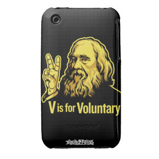 Caso del iPhone 3 de Lysander Spooner Case-Mate iPhone 3 Fundas