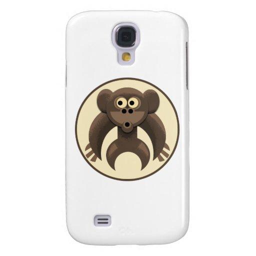 Caso del iPhone 3 de Monkeypit Funda Para Galaxy S4