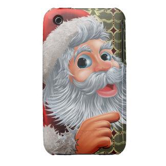 Caso del iPhone 3 de Papá Noel iPhone 3 Cobreturas