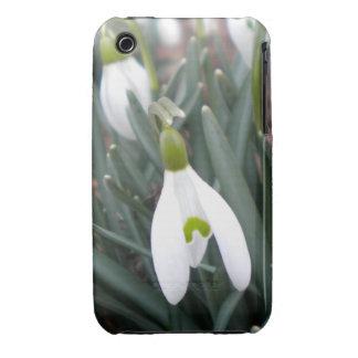 Caso del iPhone 3 de Snowdrop (Galanthus Nivalis) Funda Para iPhone 3
