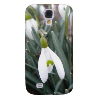 Caso del iPhone 3 de Snowdrop (Galanthus Nivalis) Samsung Galaxy S4 Cover