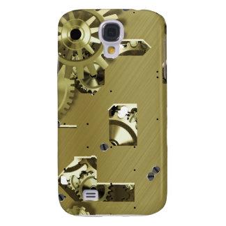 Caso del iPhone 3 de Steampunk del oro