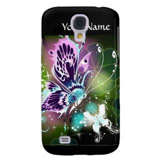 Caso del iPhone 3 del arte de la mariposa
