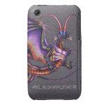Caso del iPhone 3 del dragón del monarca iPhone 3 Cárcasas