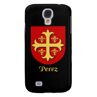 Caso del iPhone 3 del escudo de la familia de Pére Funda Para Galaxy S4