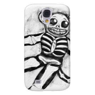 Caso del iPhone 3 del Esqueleto-Smonkey Funda Para Galaxy S4