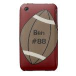 Caso del iPhone 3 del fútbol iPhone 3 Case-Mate Cobertura