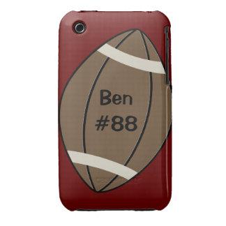 Caso del iPhone 3 del fútbol iPhone 3 Fundas