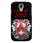 Caso del iPhone 3 del graduado del escudo de armas