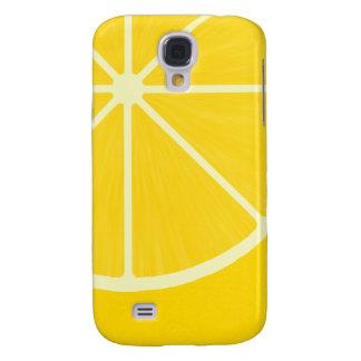 Caso del iPhone 3 del limón Funda Para Galaxy S4