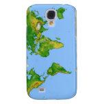 Caso del iPhone 3 del mapa del mundo