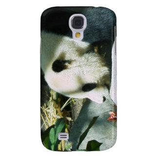 Caso del iPhone 3 del perfil de la panda Funda Para Galaxy S4