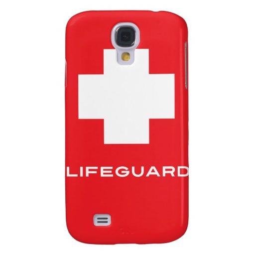 Caso del iPhone 3 del salvavidas Funda Para Galaxy S4