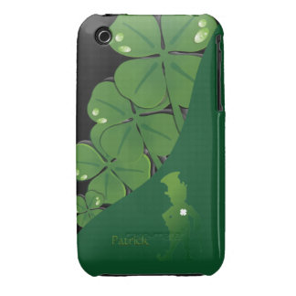 Caso del iPhone 3 del trébol de St Patrick Irlanda Case-Mate iPhone 3 Funda