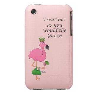 Caso del iPhone 3G/3GS Barely There del flamenco iPhone 3 Case-Mate Carcasa