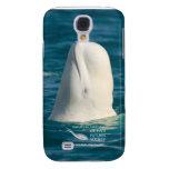 Caso del iPhone 3G/3GS de la ballena de la beluga
