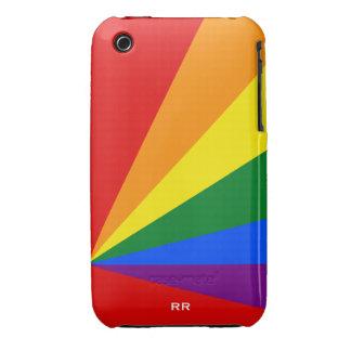 Caso del iPhone 3G/3GS de la bandera del arco iris iPhone 3 Cobertura