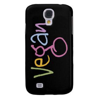 Caso del iPhone 3G/3GS de la mota del vegano Funda Para Galaxy S4