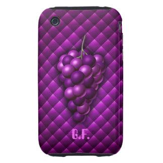 Caso del iPhone 3G/3Gs de la uva Carcasa Resistente Para iPhone