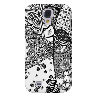 Caso del iPhone 3G/3GS del arte del Doodle de la s Funda Para Galaxy S4