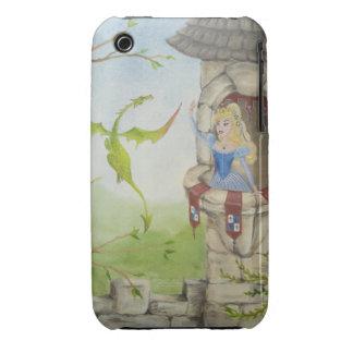 Caso del iPhone 3G/3GS del dragón y de la princesa Funda Bareyly There Para iPhone 3 De Case-Mate