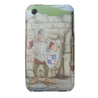 Caso del iPhone 3G/3GS del dragón y del caballero Carcasa Para iPhone 3