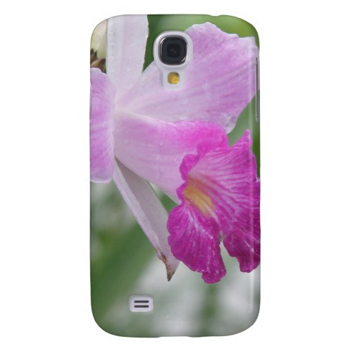 Caso del iPhone 3G de la flor de la orquídea