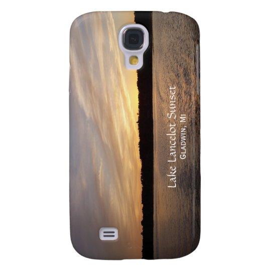 Caso del iPhone 3G de la puesta del sol de Funda Para Samsung Galaxy S4