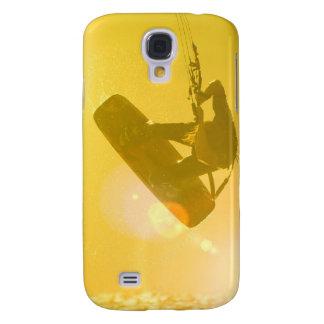 Caso del iPhone 3G de la silueta de Kitesurfing