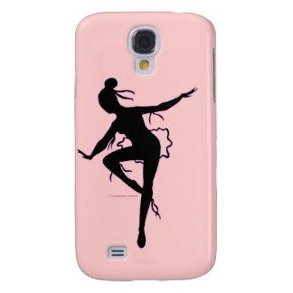 Caso del iPhone 3G de la silueta de la bailarina d