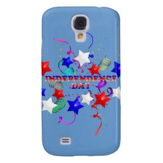 Caso del iPhone 3g de las estrellas y del confeti  Funda Para Galaxy S4