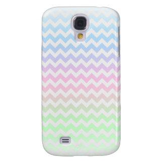Caso del iphone 3g del arco iris de Chevron Carcasa Para Galaxy S4