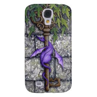 Caso del iPhone 3G del arte del dragón de la fanta Funda Para Galaxy S4