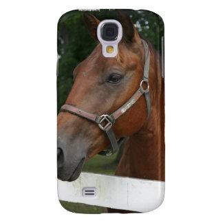 Caso del iPhone 3G del caballo de la castaña dulce