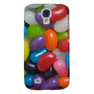 Caso del iPhone 3G del caramelo de la haba de jale Samsung Galaxy S4 Cover
