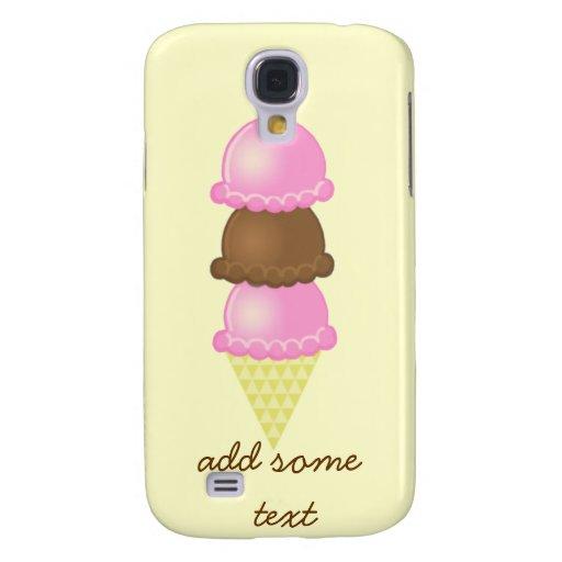 Caso del iPhone 3G del cono de helado