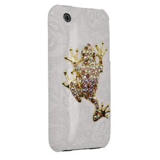 Caso del iPhone 3G del cordón de Paisley de la fot iPhone 3 Case-Mate Protector