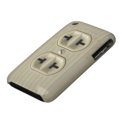 Caso del iPhone 3G del enchufe de pared del iPhone 3 Carcasas