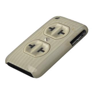 Caso del iPhone 3G del enchufe de pared del vintag iPhone 3 Carcasas